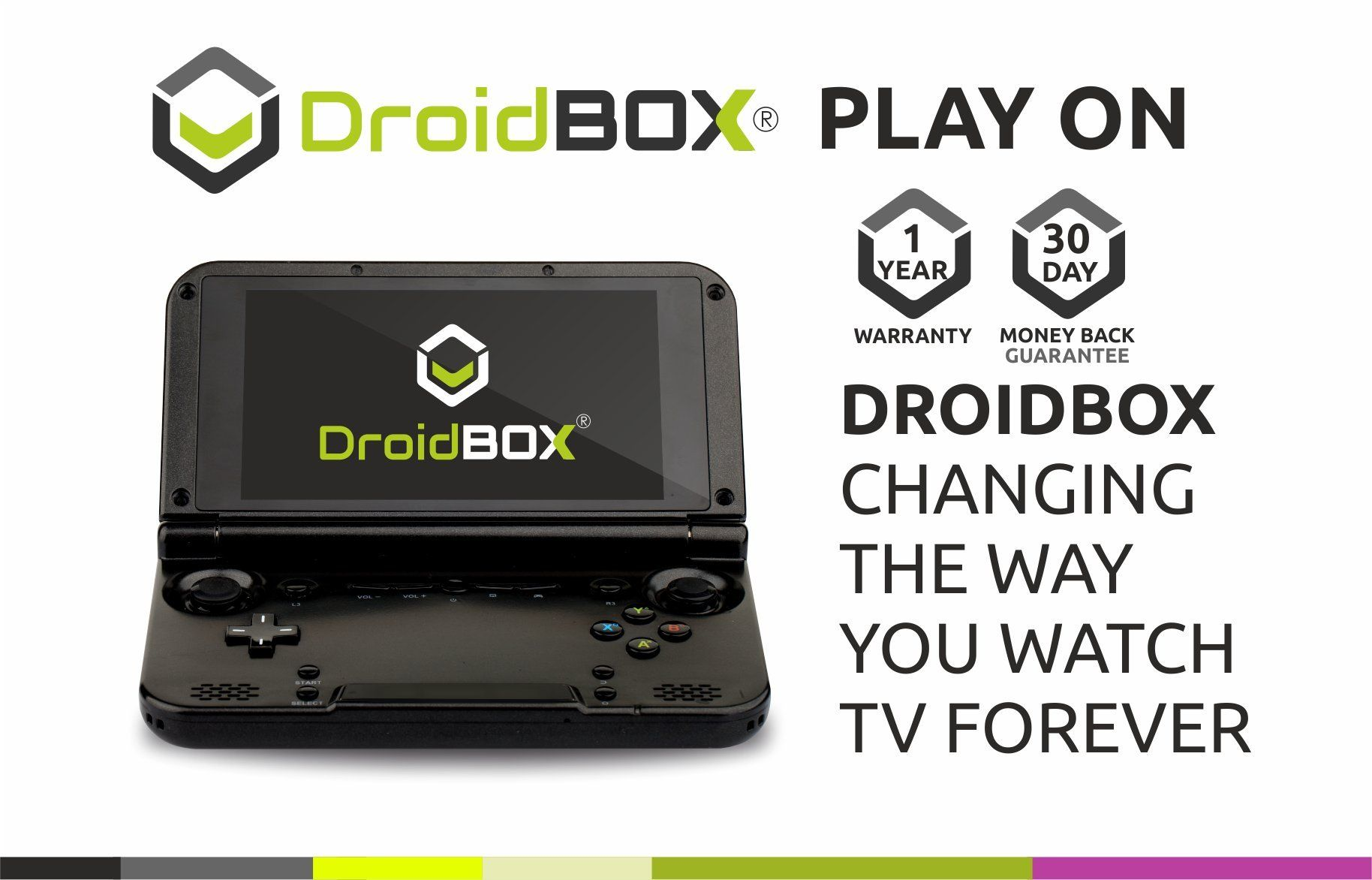 Gpd Xd Droidbox Playon Gamepad Handheld 5 Quot Touchscreen Gaming