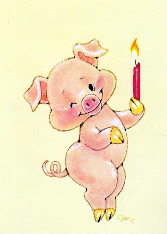 Картинки в год свиньи 2019 нарисовать, дню примирения картинки