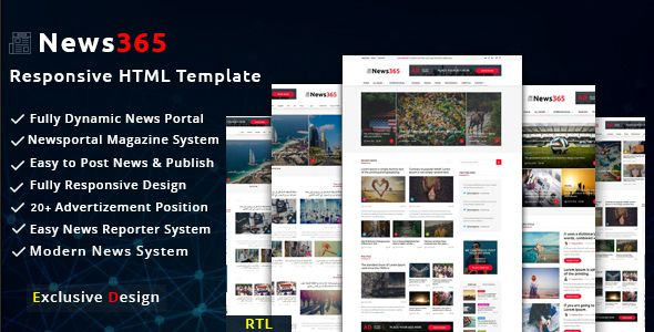 Magazine Website Templates Free Download