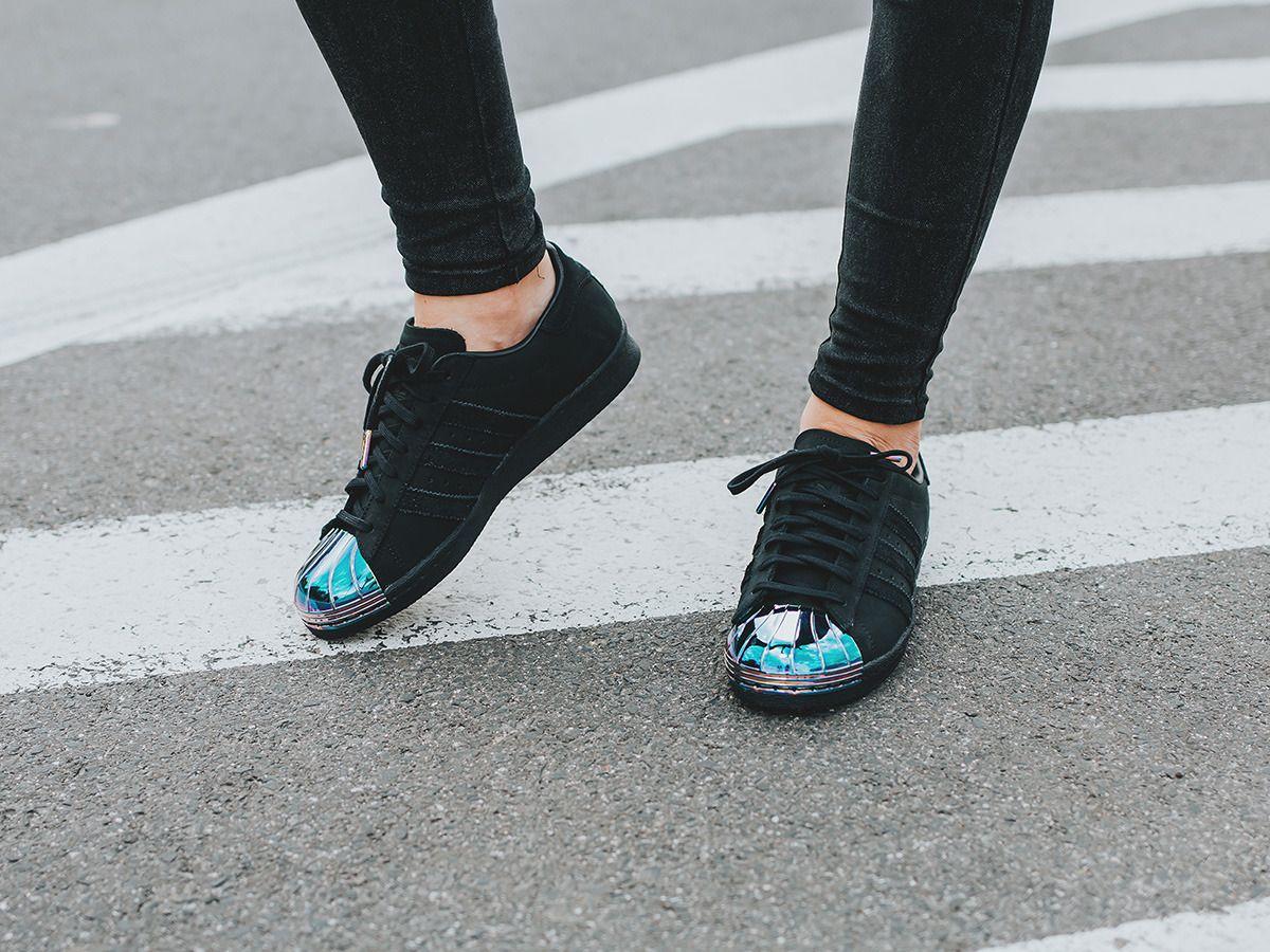 Adidas Originals Superstar 80s Metal Toe S76710 Chaussures 2019 Adidas Running Pas Cher Pour Homme Noir S76710 Officielle de Boutique de Basket en