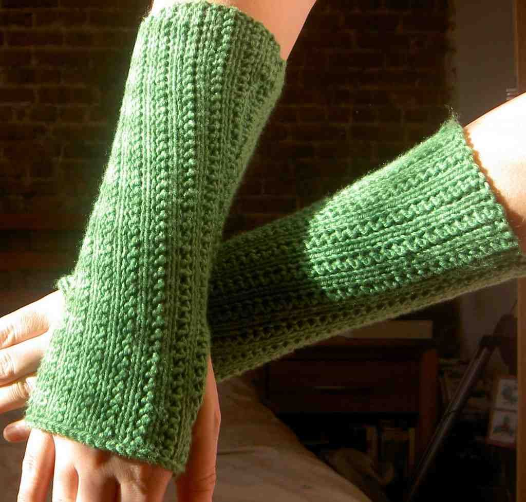 Arm Warmer Knitting Pattern | Best Arm Warmers | Pinterest | Arm ...