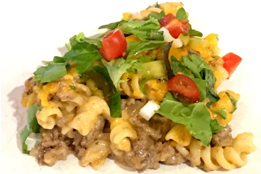 Big Mac Cheeseburger Casserole Recipe - Make Your Meals