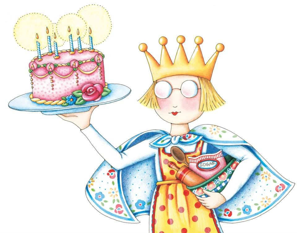 A big HAPPY BIRTHDAY goes out to Ann Estelle today, Mary's little blonde, bespectacled alter-ego. Have a great year, AE!