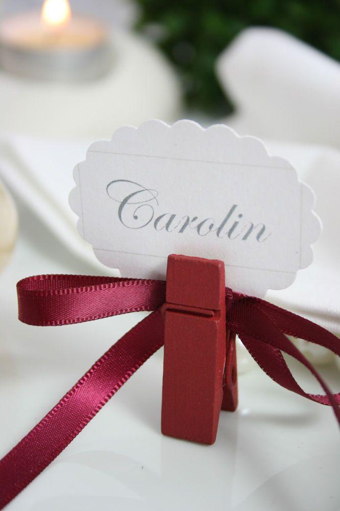 Tischkartenhalter Fotohalter Fur Hochzeit Platzkarten Oder