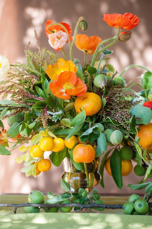 Ripe Romance Fruit Wedding Summer Wedding Centerpieces Wedding