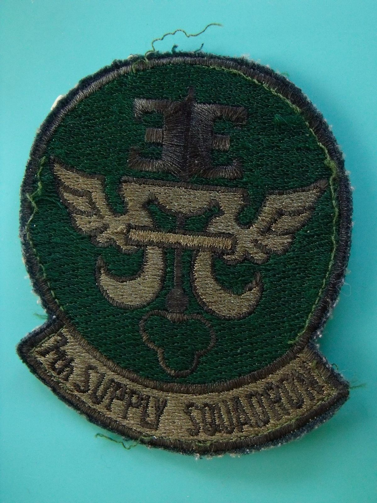 7th SUPPLY SQUADRON USAF ORIGINAL SALTY USED AIR FORCE