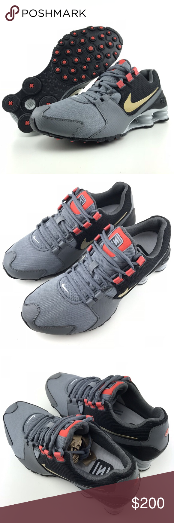 a84c78c86bd3fd ... clearance nike shox avenue premium running shoes nike shox 10.5 mens  avenue premium sneakers cool grey