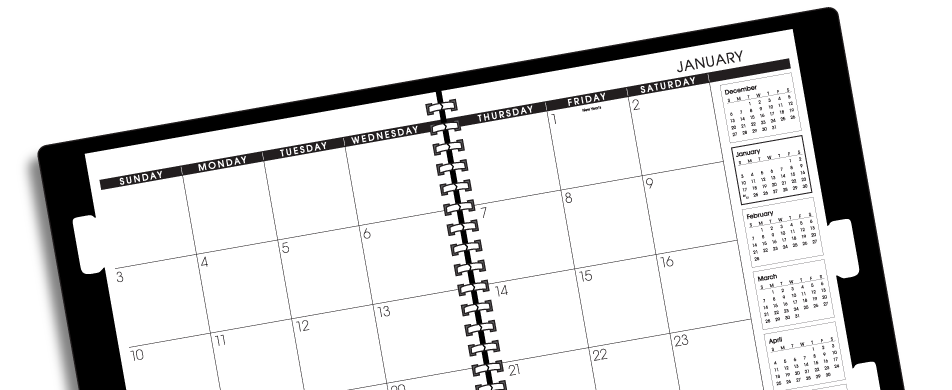 at a glance 5 year monthly planner item 70296 world