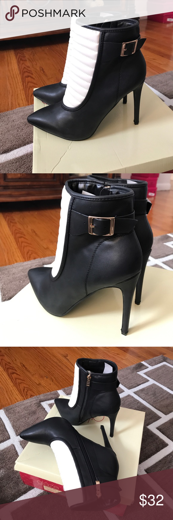 Brand new Brand new glaze Shoes Heeled Boots Clothes