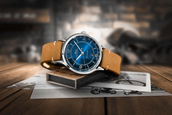 Mido Multifort Patrimony in blue #midowatches #watchesformen #watchtime #watchgeek #watchnerd #watchaddict