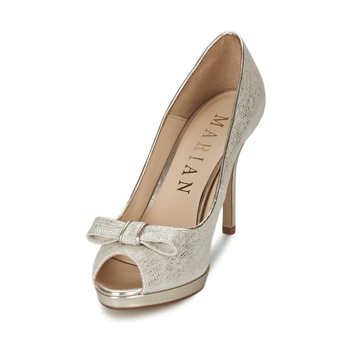 Marian ESMERALDA Blanc - Livraison Gratuite avec  - Chaussures Escarpins Femme
