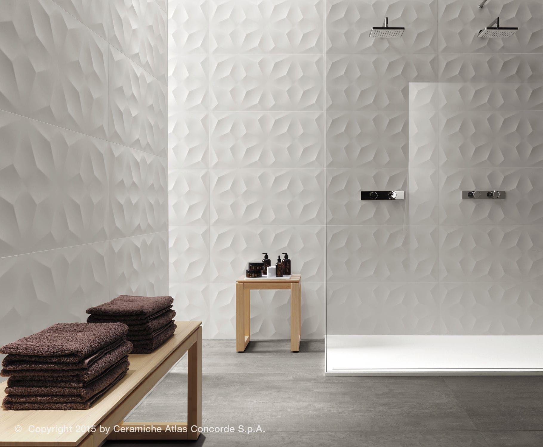 Indoor Tile Wall Ceramic 3d 3dwalldesign Blade Atlas Concorde Videos Living Room Tiles 3d Wall Tiles Wall Cladding