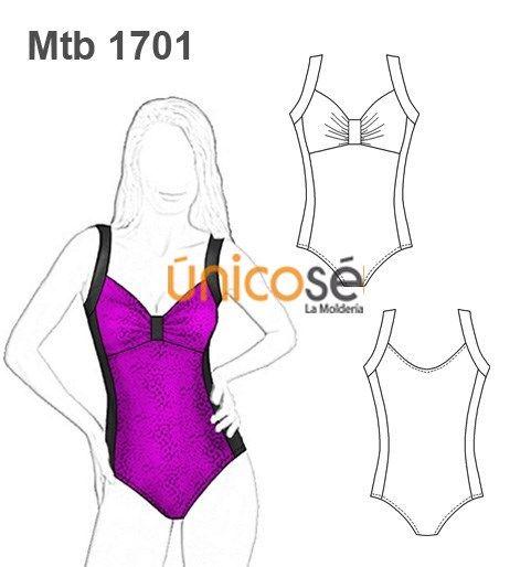 b57ede90d6c3 TRAJE DE BAÑO MALLA MUJER | ropa de baño | Ropa de baño, Diseños de ...