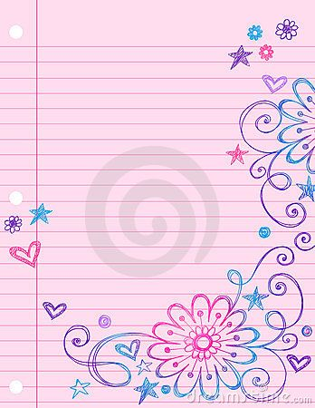 Cute notebook paper background doodles on notebook paper notbook cute notebook paper background doodles on notebook paper altavistaventures Gallery
