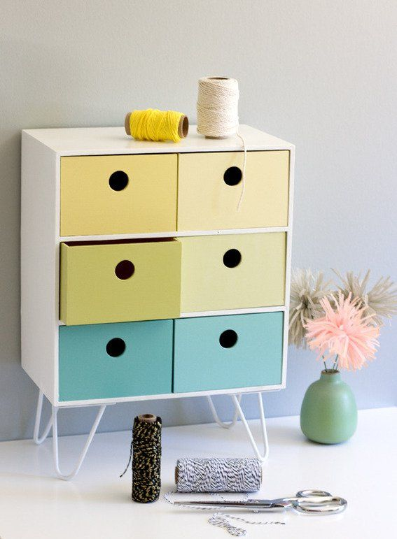 Make It: DIY Retro Inspired IKEA Storage Hack