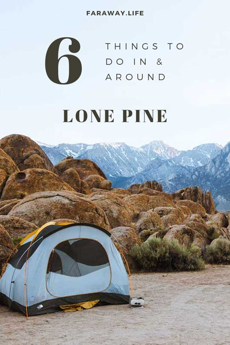 What to do in and around Lone Pine | Lone pine, Lone pine ...