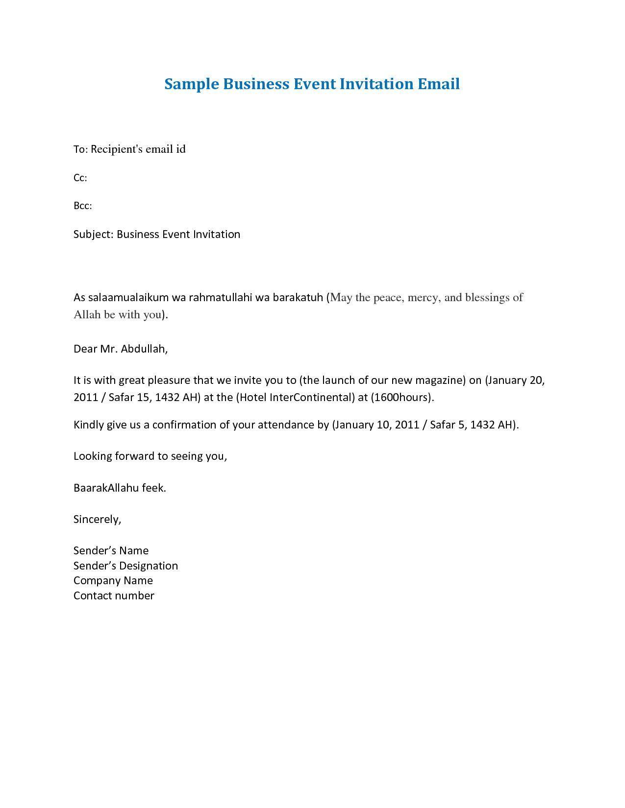 18 Work Dinner Invitation Email Template  Event invitation