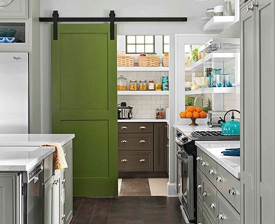 Why A Cool Pantry Door Is The Secret Ingredient To A Cool Kitchen Cool Bhg Kitchen Design Review