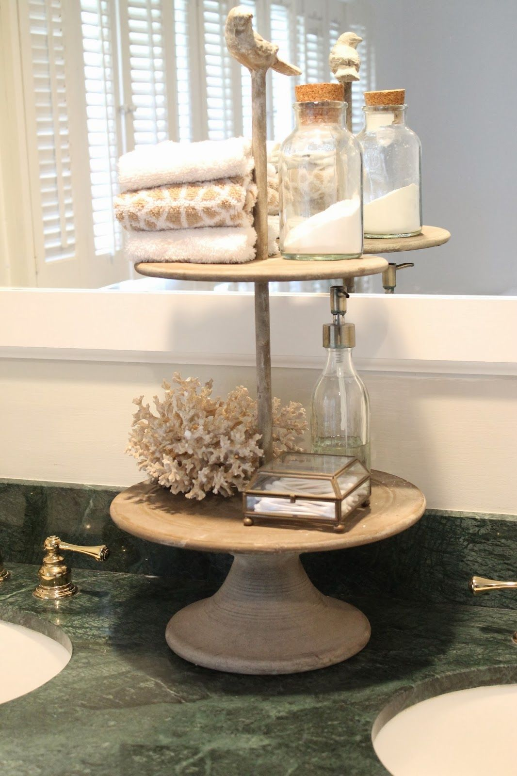 The Picket Fence Projects Counter Clutter Bathroom Vanity Tray Beautiful Bathroom Vanity Bathroom Counter Decor