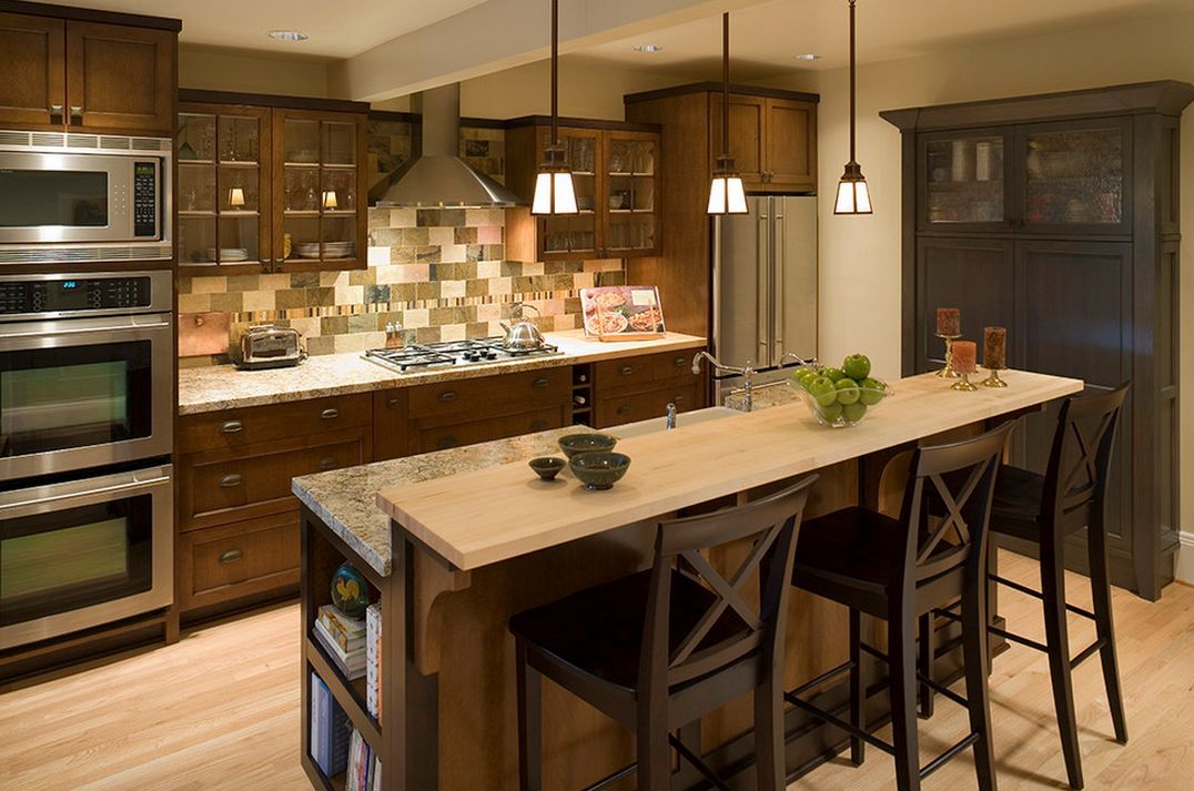 Arts And Crafts Kitchen Design Ideas Part - 36: Craftsman Style Kitchen Design Listed In: Kitchen Designs Kitchen  Remodeling Field In Conjunction With Arts And Crafts Kitchen Field