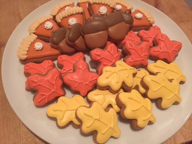 Mini Fall Time Cookies