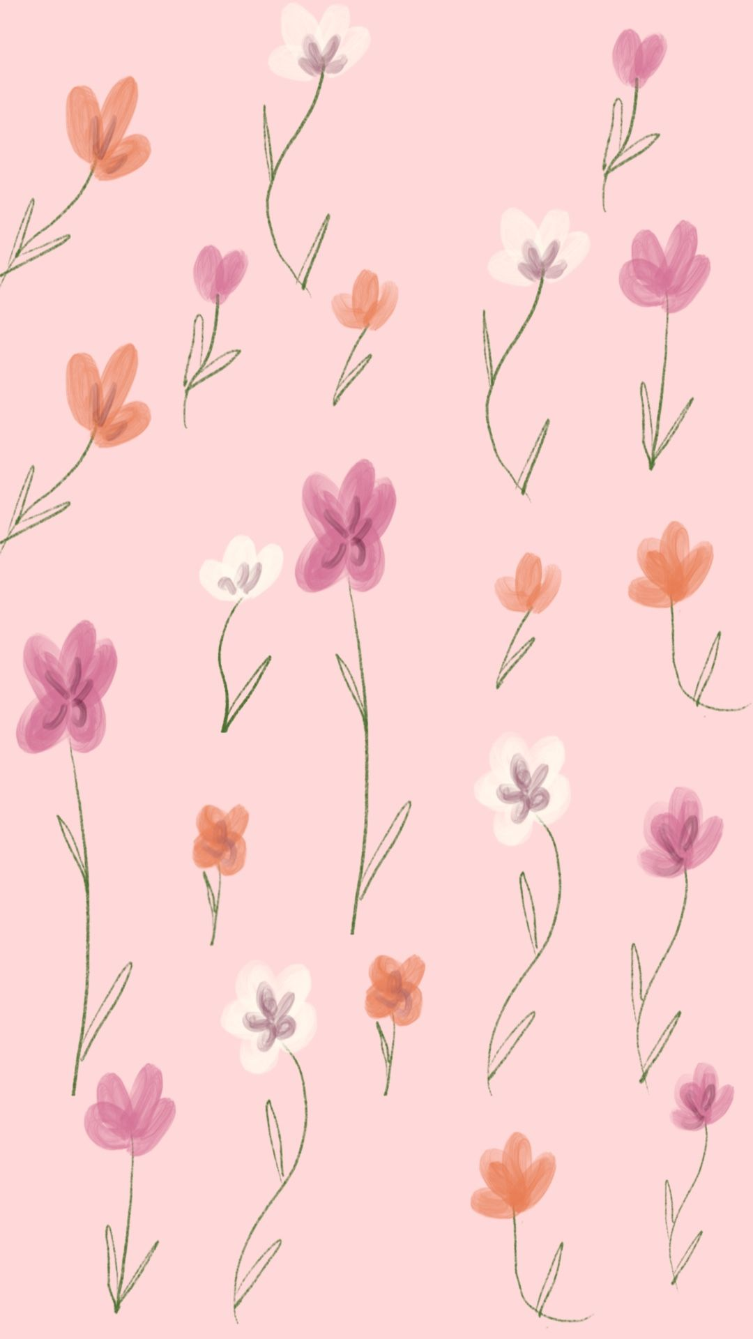 Floral Background Cherry Blossom Wall Art Floral Background Watercolor Background