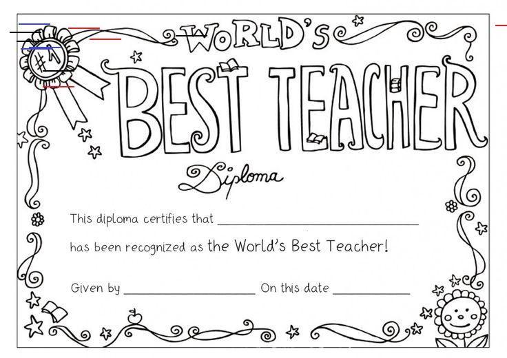 Colouring Teachers Day Card Teacher Appreciation Week Teachers