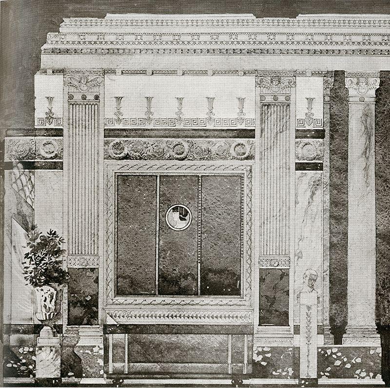 Gaetano Moretti. Arquitectura. v.6 n.36 1920: 23