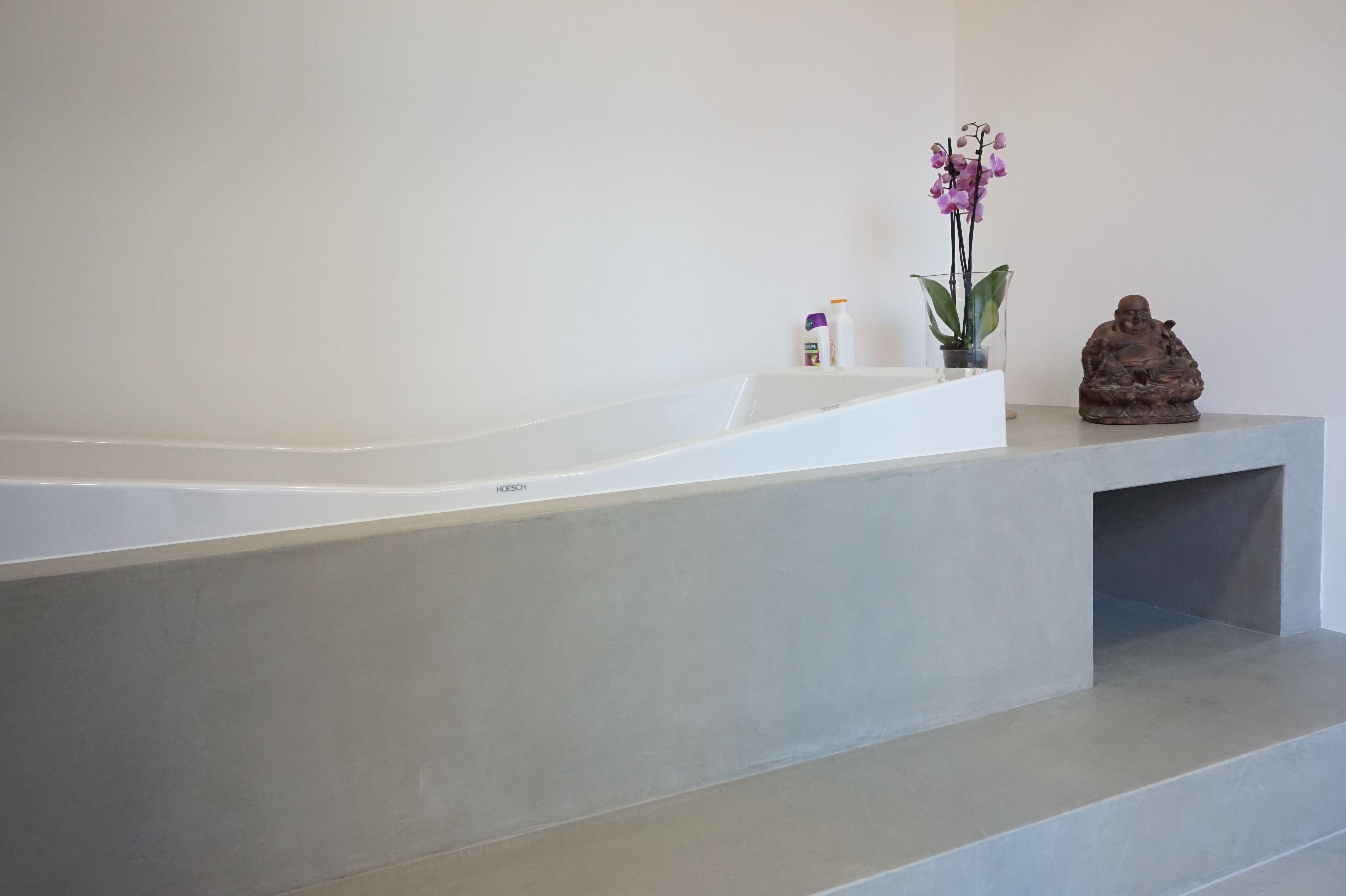 Beton Cire Fugenloses Bad Fugenlose Badgestaltung Badgestaltung Wandgestaltung Badezimmer