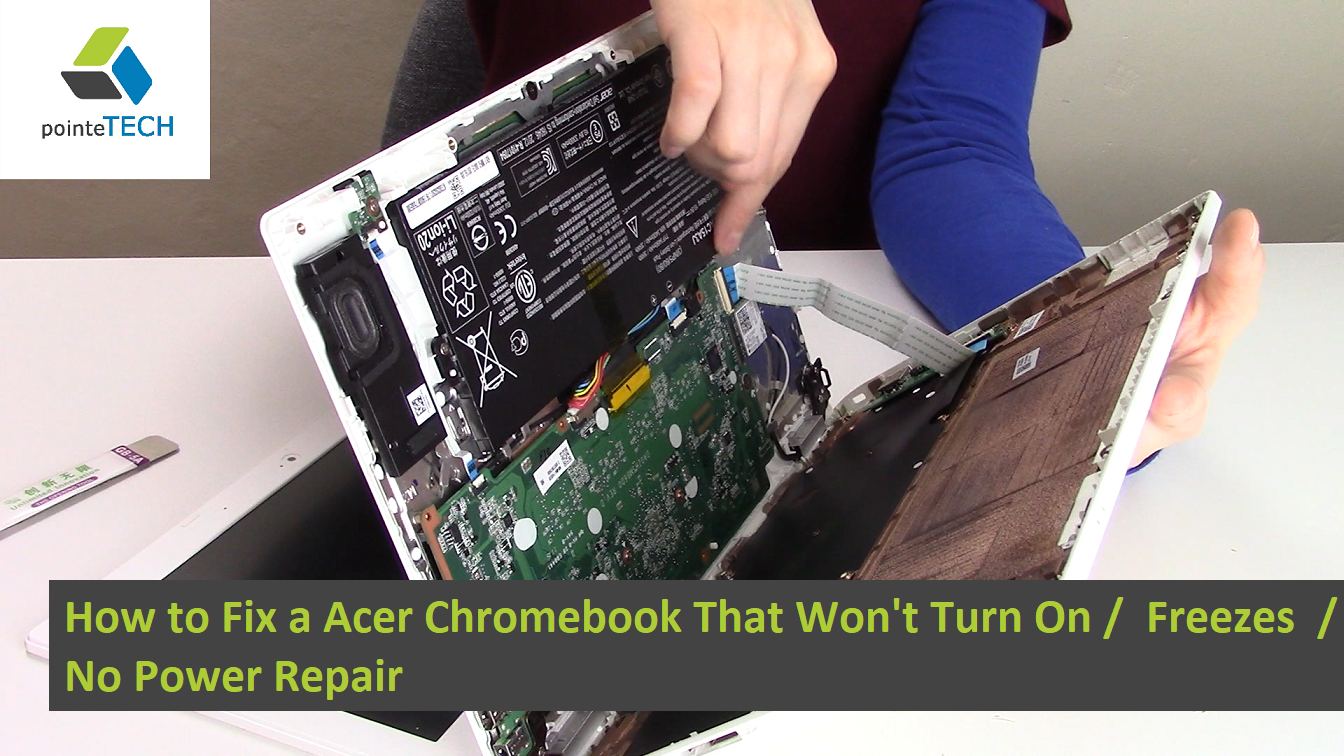This is an easy fix for any model Acer Chromebook that won't turn