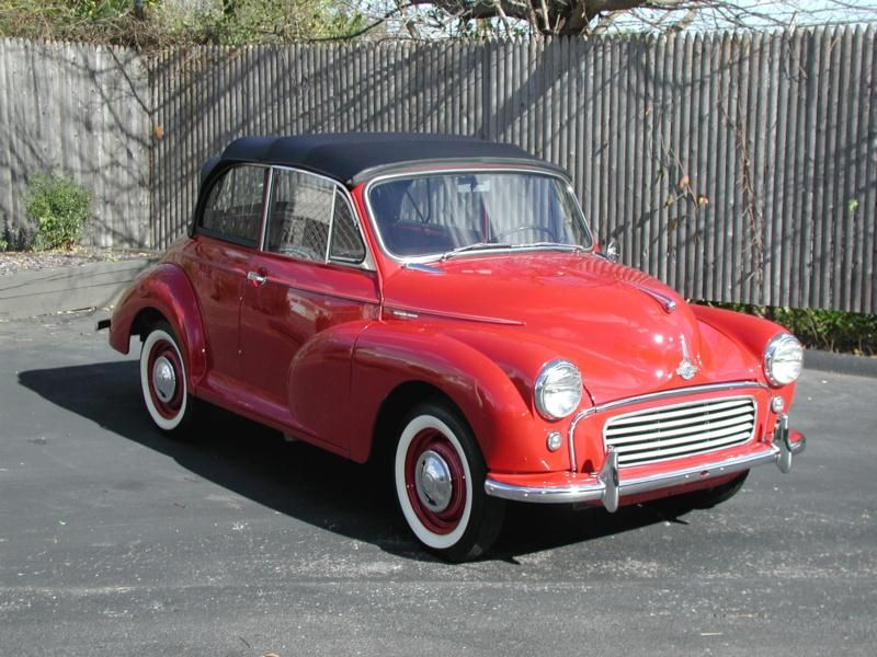 1958 Morris Minor Convertible Morris minor, Vehicles, Morris