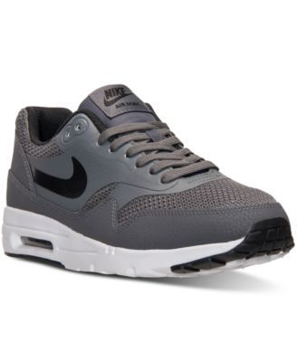 Nike Air Max 1 Ultra Essentials Running Sneakers synthetic dark grey/black sz7.5 89.98 1/16