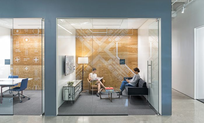 Global Architecture Firm Gensler Has Recently Designed Their New Offices Located In Oakland California