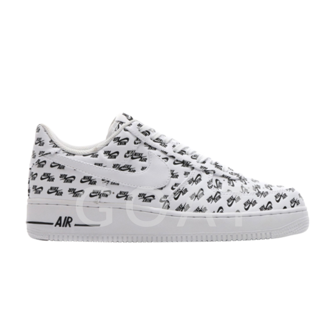 Air Force 1 Low 07 QS 'All Over Logo White' Nike air
