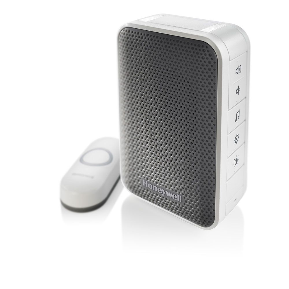 Honeywell 3 series portable wireless doorbell with strobe