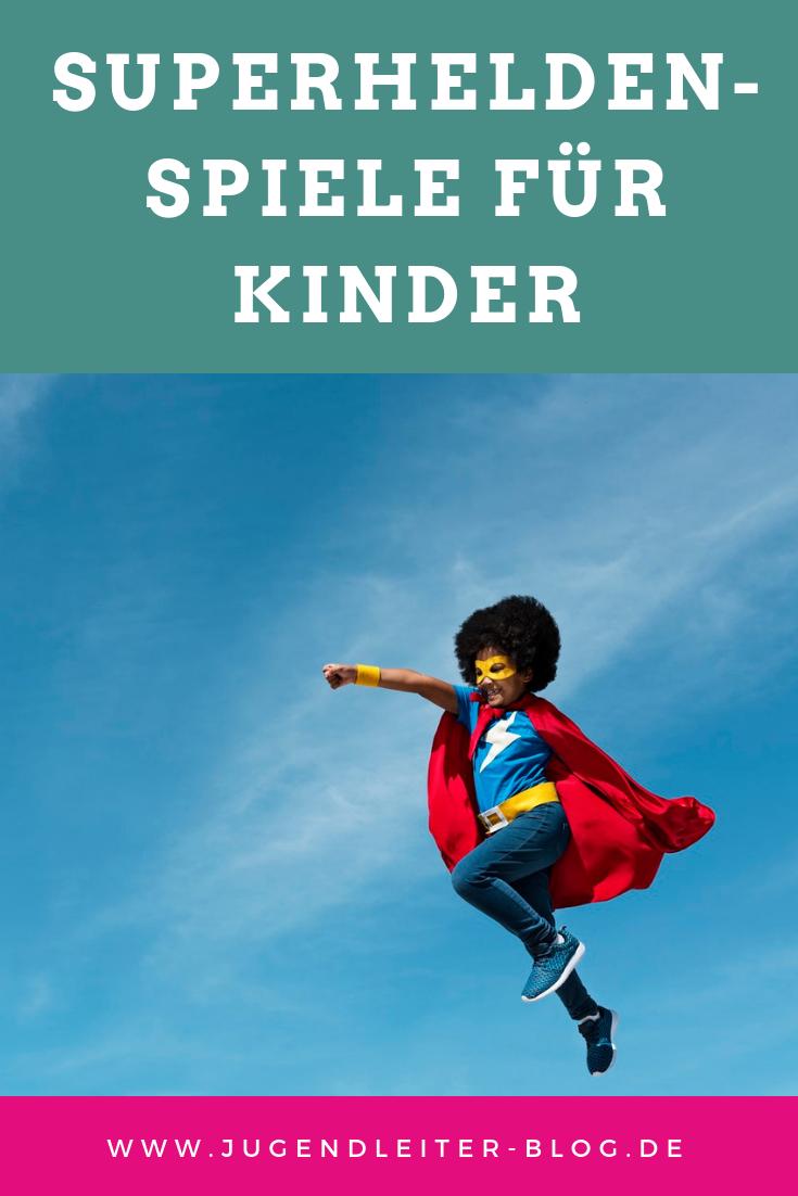 Superhelden-Spiele für Kindergeburtstage, Partys und mehr #superherocrafts