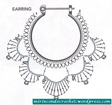 Ari2is diagram is for making lotus flower earrings crochet this diagram is for making lotus flower earrings ccuart Choice Image