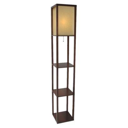 Threshold™ Shelf Floor Lamp with Paper Shade - Threshold™ Shelf Floor Lamp With Paper Shade DIY And Apartment