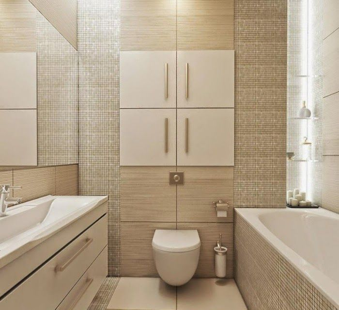 Make Photo Gallery tile design ideas for small bathrooms mosaic tiles in beige and large