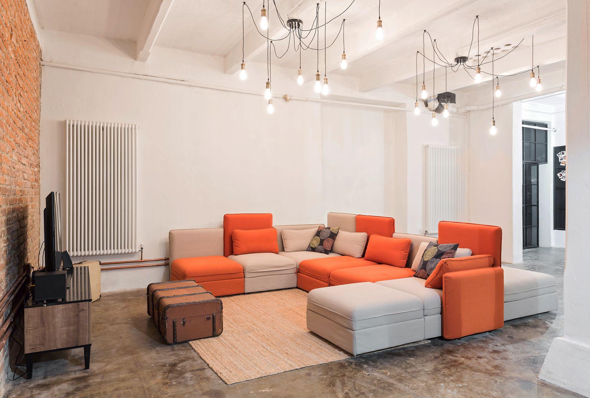 Il divano componibile vallentuna di ikea project nomade architettura e interior design photo - Ikea divano componibile ...