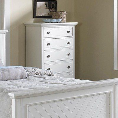 Greystone BP450CHC Aden 5 Drawer Chest Finish: White by Greystone. $526.66. BP700CHW Finish: White Features: -Vintage inspired hardware.-Decorative bun feet.-Five dovetailed drawers.-Dust covers for drawers. Construction: -Frame constructed of kiln dried solid pine hardwood. Collection: -Aden Collection.