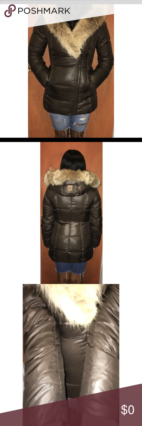 ‼️SOLD‼️ADDITIONAL MACKAGE PICS ⛔️-I DON'T TRADE‼️-  this listing is to show the fit and the condition I'm 5 feet and this coat covers my behind.. Small stain /dirt under the sleeve  cannot be seen when worn Mackage Jackets & Coats