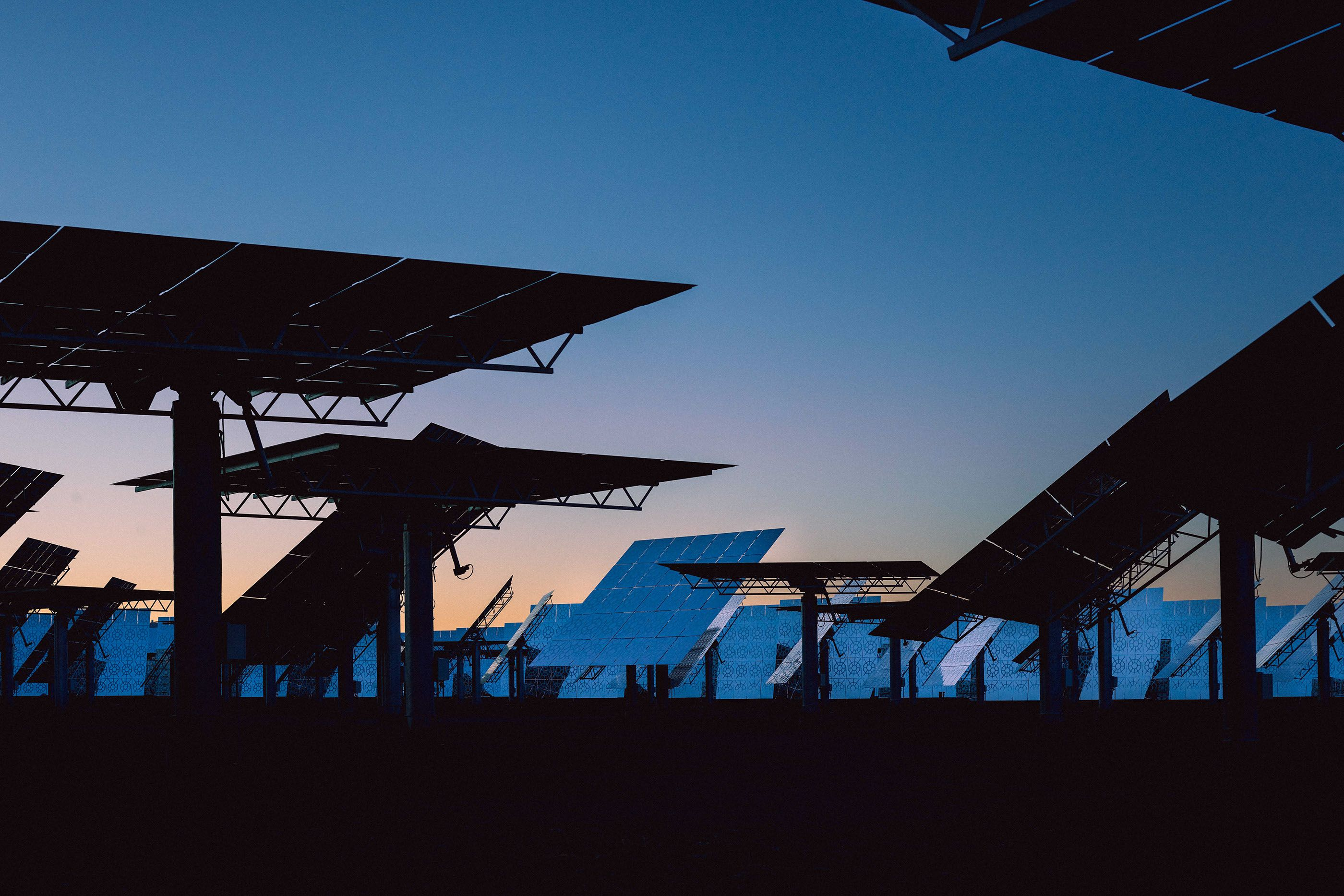Crescent dunes on behance energy pictures what is solar