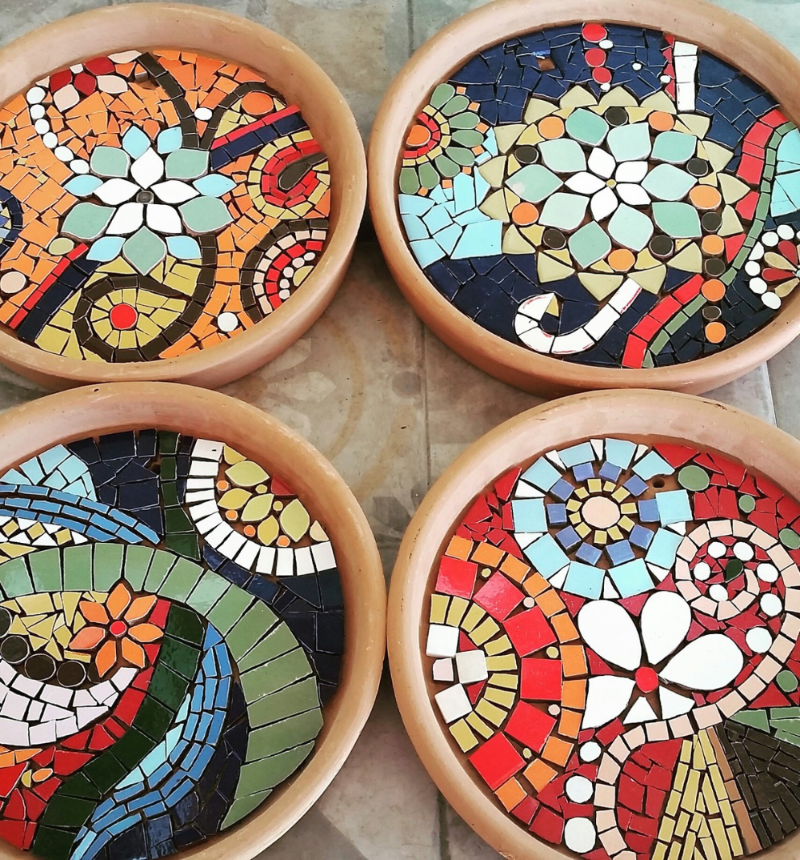 Photo of How to Make Your Own DIY Mosaic Coasters – Mozaico Blog