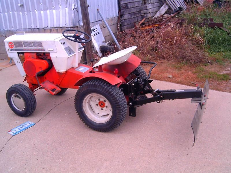 Small Garden Tractors : Installed a sleeve hitch on the suburban garden