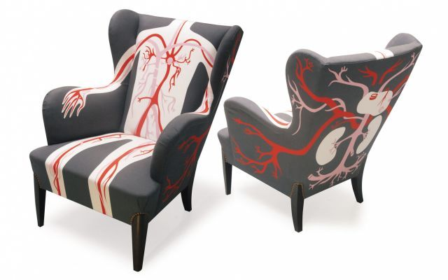 Tante Wera Wingchairs 'flow'