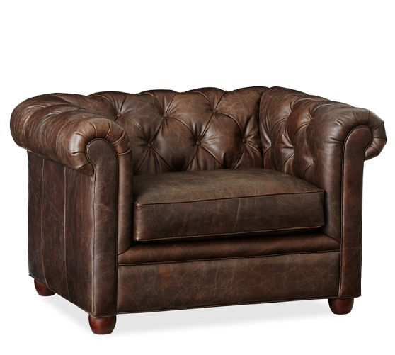 Superbe Chesterfield Leather Sofa