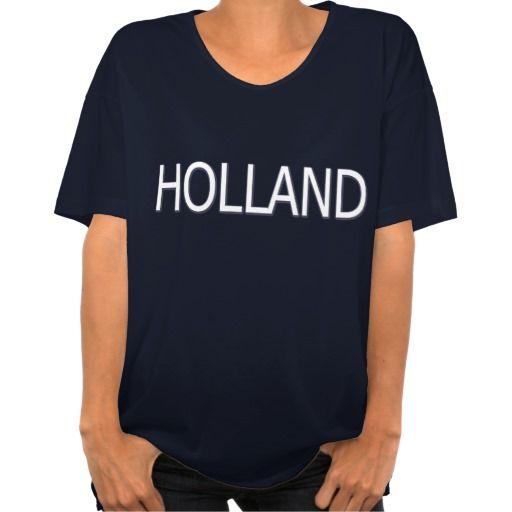 T-shirt oversized met Holland (wit) en nummer 1 (oranje). Beschikbaar in diverse maten, soorten shirts en kleuren voor zowel dames, heren en kinderen.