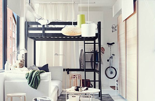 16 Totally Feasible Loft Beds For Normal Ceiling Heights Studio
