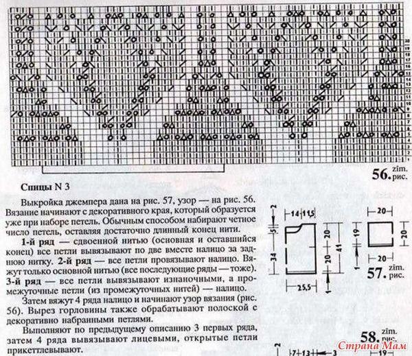 """Сегодня попался на глаза классный джемпер """"Тюльпаны"""", я в него влюбилась, хочу поделиться с вами источник http://www.liveinternet.ru/ ПЫ."""